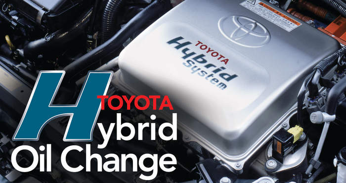 Toyota Hybrid Oil Change on toyota avalon air fuel sensor location