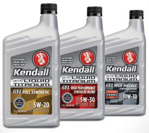 Conocophillips Lubricants Adds Liquid Titanium To Kendall