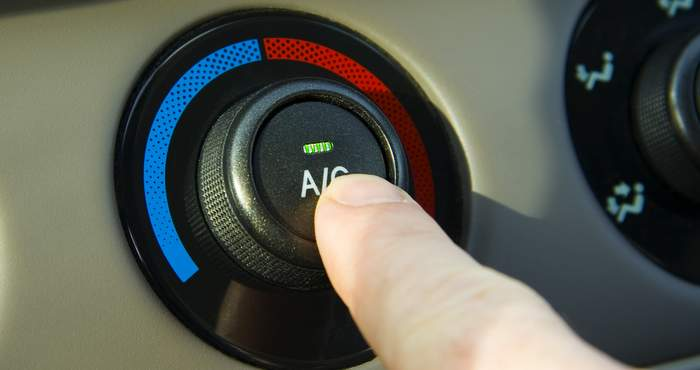 GM Air Conditioning odor