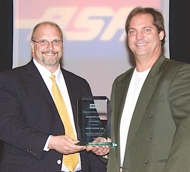 Donny Seyfer ASA award