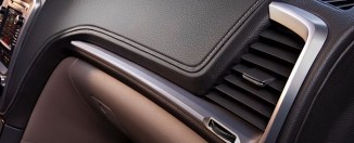 2013 GMC Acadia Dash Detail
