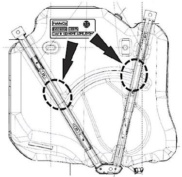 Ford Focus Tech Tip Inaccurate Fuel Gauge Or Distancetoempty. 0ford Fuel Gauge 2. Ford. 2014 Ford Focus Fuel System Diagram At Scoala.co