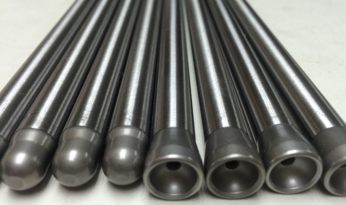 "Custom Cummins 24 valve pushrods .437"" diameter with .120"" wall thickness."