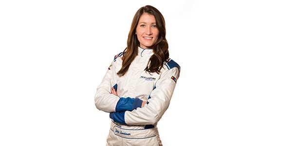 NASCAR Driver Julia Landauer Teams Up With TechForce