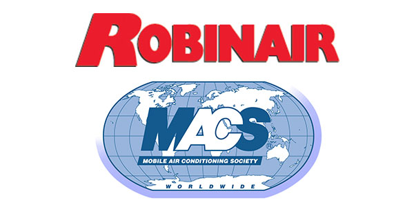 Robinair And MACS To Provide Free Section 609 Test Prep Webinar And Online Test