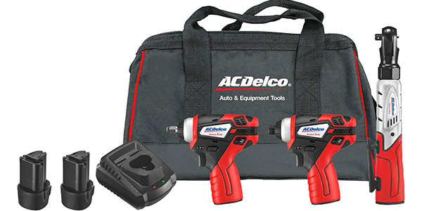 ACDelco Power Tools Offers New 3-Piece Set