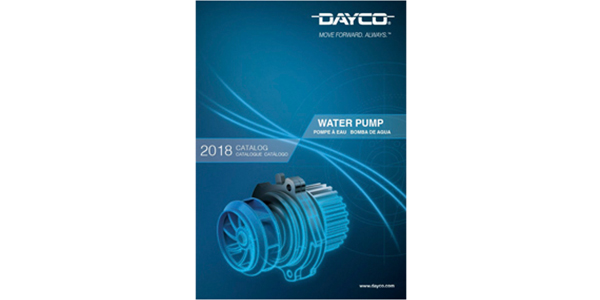 Dayco Releases New Water Pump Catalog