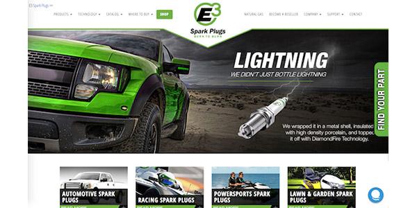 E3 Announces New E-commerce Website