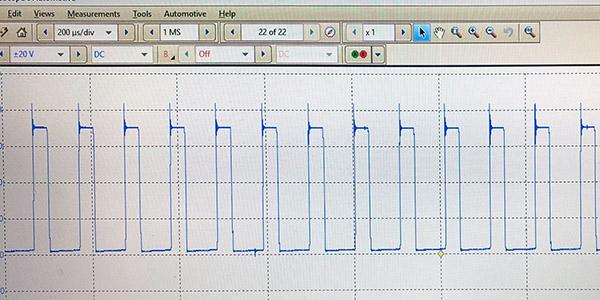 Pulse-Width Fuel Pump Diagnostics -