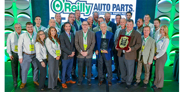 Standard Motor Products Named 2018 Supplier Of The Year By O'Reilly Auto Parts