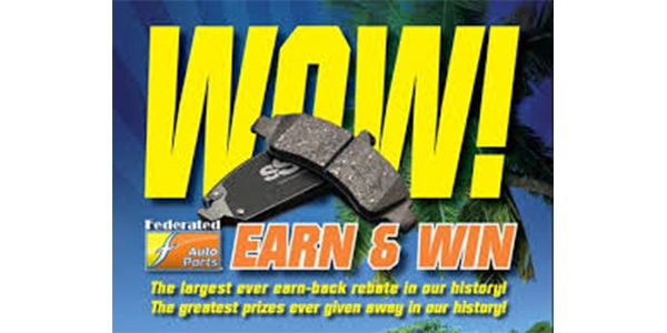 Grand Prize Winners Announced In Fisher Auto Parts 'WOW! Earn And Win!' Promotion
