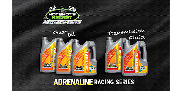 Hot Shot's Secret Introduces ADRENALINE Racing Transmission Fluid And Gear Oil