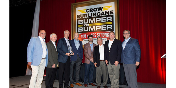 Continental Battery Named Vendor Of The Decade By Crow-Burlingame
