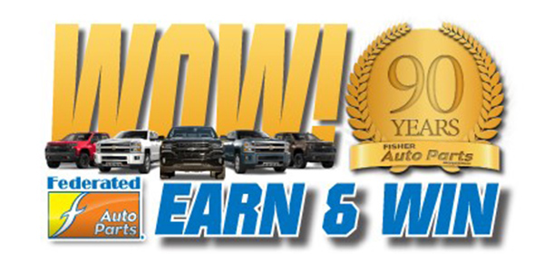 More Prizes, Great Rebates In Fisher Auto Parts' 'WOW! Earn And Win!' Promotion