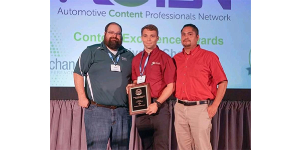 Melling Awarded The Receivers Choice Content Excellence Award From O'Reilly Auto Parts