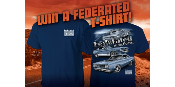 Muscle Into Summer With A Cool Retro T-Shirt In Federated Facebook Contest