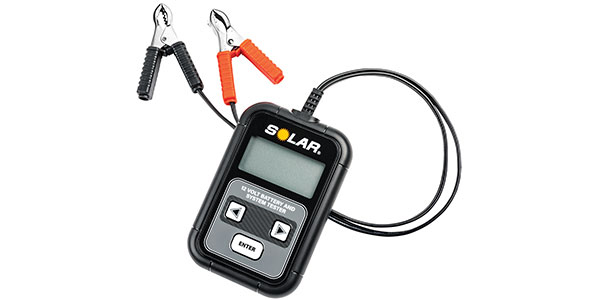 New SOLAR 12V Digital Battery And Electrical System Tester