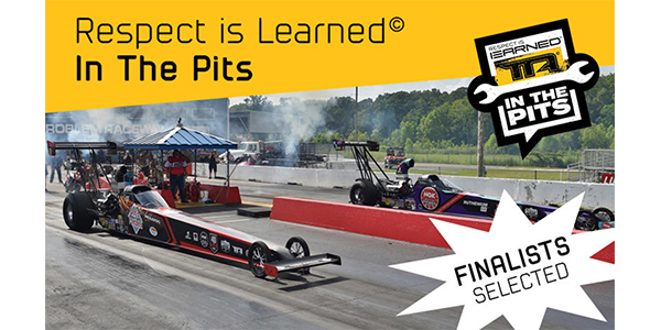 Finalists Selected For 2019 Respect Is Learned In The Pits