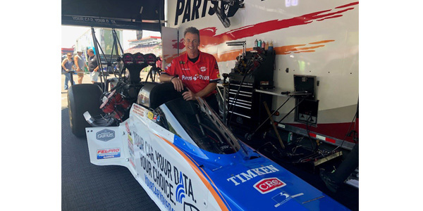Parts Plus Top Fuel Dragster Generates Awareness, Signatures For Auto Care Association's Data-Access Petition