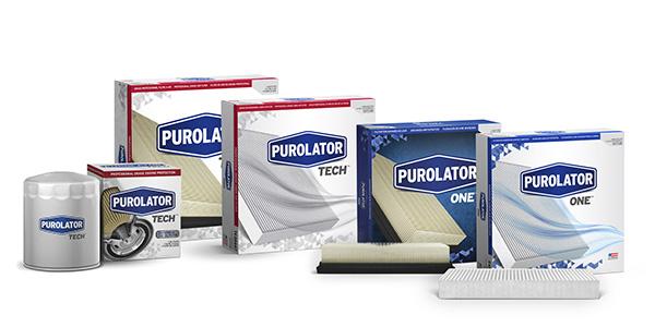 Purolator, PurolatorONE, PurolatorTECH Expand Product Lines With More Than 60 New Filters