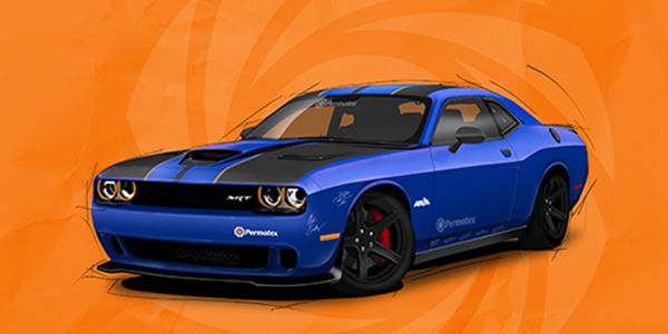 Permatex Partners With PowerNationTV Engine Power For 2019 Dodge Challenger Sweepstakes Build Project