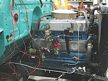 Chev on Chevy 216 Engine Oil Diagram