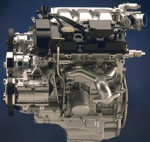 ford 3.0l duratec engine: servicing tips  underhood service