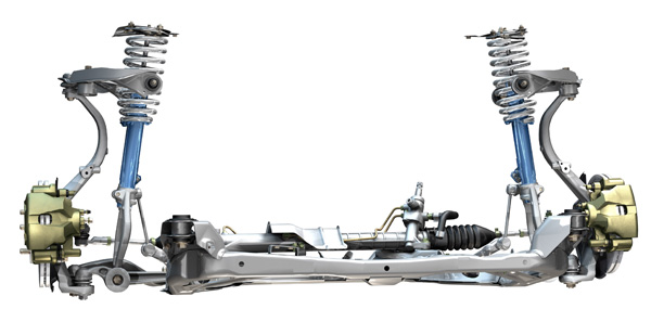 The Front Suspension On Fusion Uses A Double Ball Joint Arrangement Lower Control Arms If One Of Links Or Joints Is Damaged It Can Create