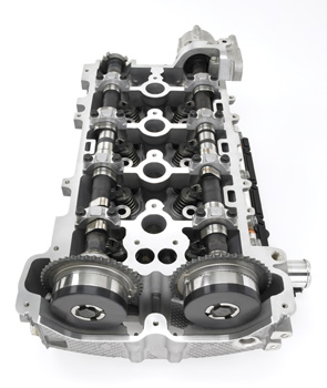 tech feature general motor s ecotec 2 0l turbo engine the camshafts of the ecotec 2 0 liter turbo engine have phasers that support the continuously