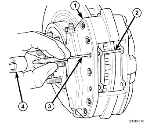brake job dodge magnum challenger charger rh underhoodservice com 2007 Toyota Sienna Front and Rear Brakes Diagram 2007 Toyota Sienna Front and Rear Brakes Diagram