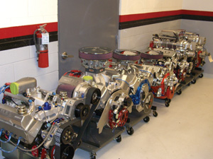 "Michaels admits that the GM crate engines offer budget racers an equal platform. ""If you check each of these engines, they're probably within 25 hp of each ..."