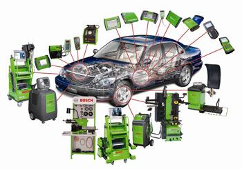 Bosch Diagnostics Offers Full Range of Equipment for Engine