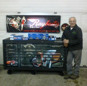 Winner Announced for Raybestos '32 Roadster Matco Tool Chest